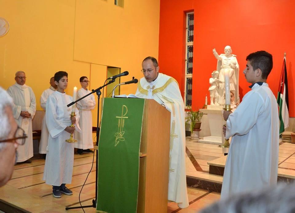زيارة السفير البابوي الجديد