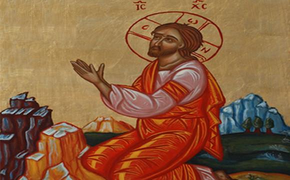 jesus-pray-alone-icon