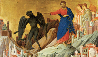 Jesus is Tempted by Satan