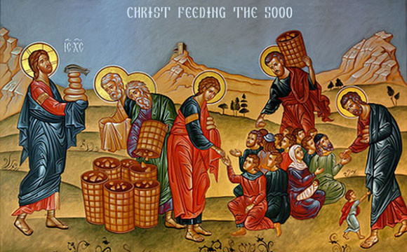 jesus feeds 5000_2 icon
