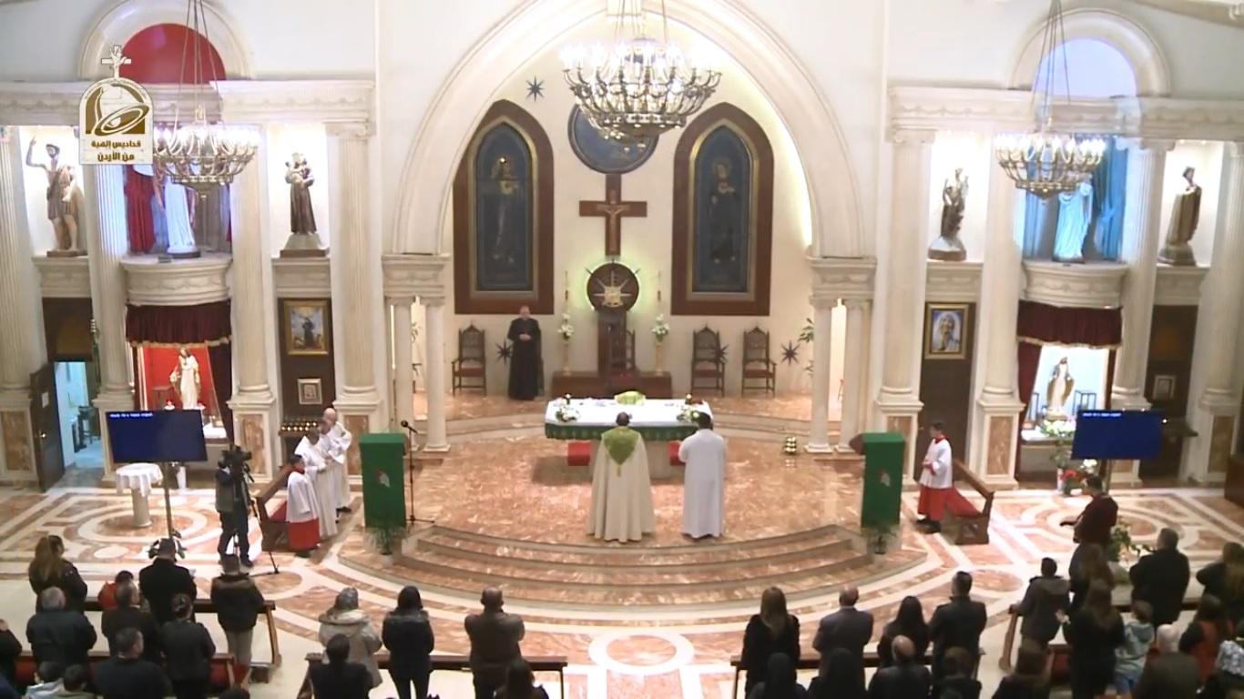 صلاة وقداس الثالث من صوم الباعوثا الكنيسة الكلدانية في الأردن 2017