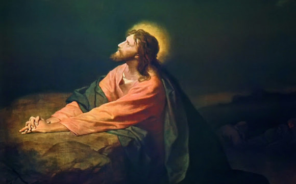 Jesus Prays to Be Glorified 1