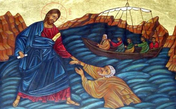 Jesus Walks on the Sea11