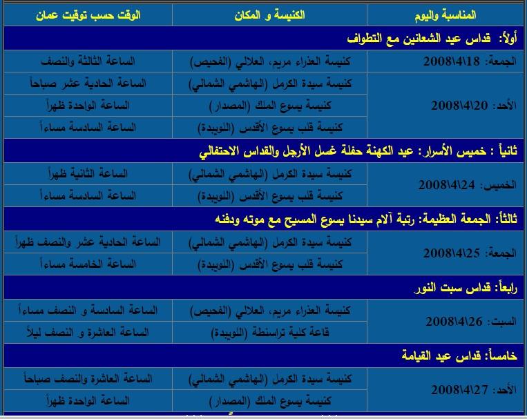 برنامج القيامة 2008