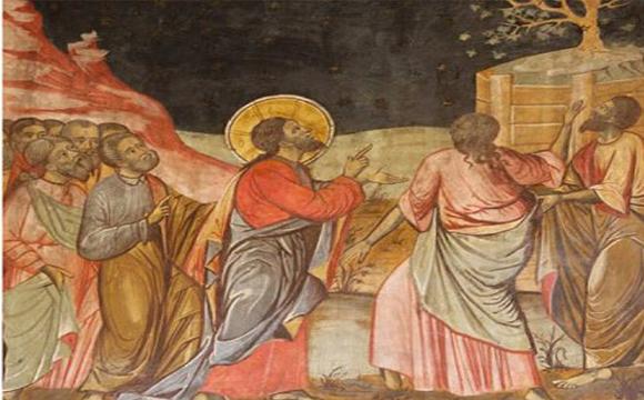 الثلاثاء الرابع من الصليب والسابع من ايليا